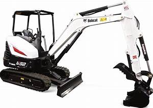 Bobcat E32 Compact Excavator Factory Service  U0026 Shop Manual