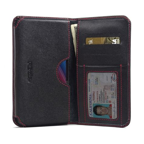 asus zenfone zoom leather wallet sleeve stitch