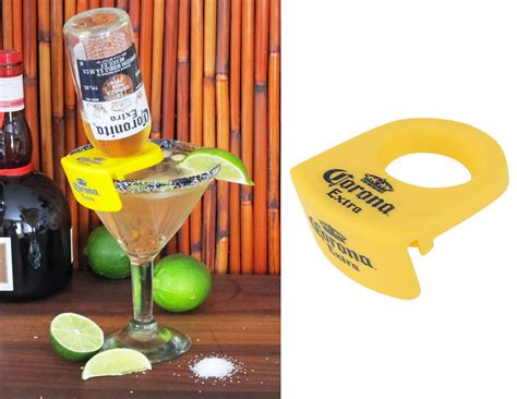 coronarita drink clips for margarita glasses the green head