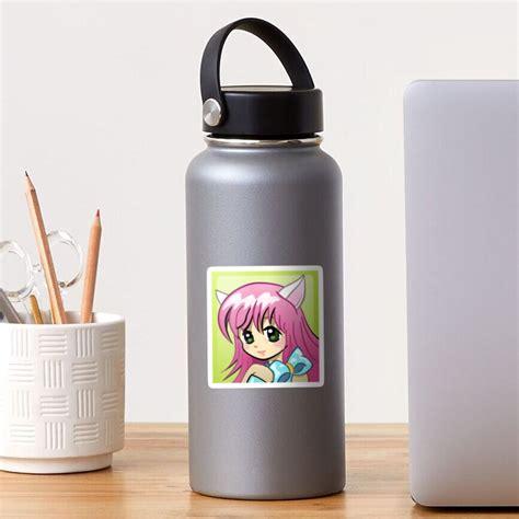 Xbox 360 Anime Girl Gamerpic Sticker By Thirstylyric
