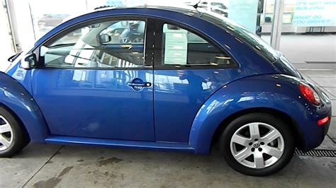 blue volkswagen beetle 2007 volkswagen new beetle blue 200 interior and