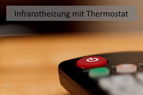 infrarot fußbodenheizung erfahrungen infrarotheizung mit thermostat temperatur einfach steuern 187 infrarot guide