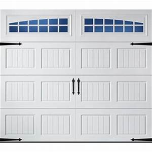 Shop garage doors at lowescom for Carriage style garage doors lowes