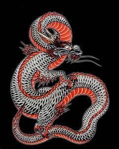 Japanese dragon 6 | Products, Art and Dragon