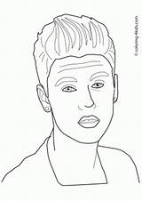 Coloring Pages Celebrity Printable Shawn Mendes Celebrities Famous Books Sheets Drawings Bieber Justin Designlooter 04kb 375px sketch template