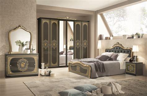 kommode mit spiegel alice  schwarz silber schlafzimmer