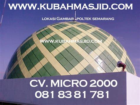 jasa kubah masjid enamel produsen kubah masjid panel