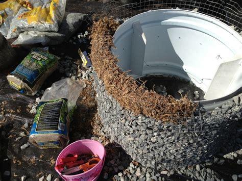 gabionen selber bauen rundes gabionen hochbeet selber bauen 20 tipps