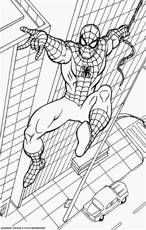 spiderman coloring pages games  coloringsnet