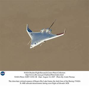 NASA Dryden X-48B Blended Wing Body Photo Collection