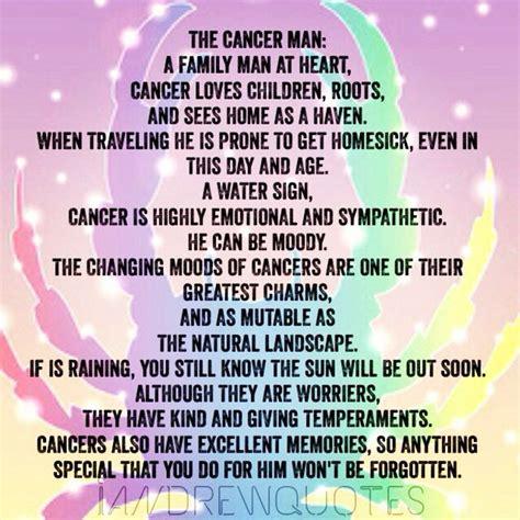 zodiac cancer man quotes quotesgram