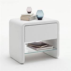 Nachttisch Schrank Weiß : nachttisch weiss kunstleder nachtkonsole nachtschrank nachtkommode flash ebay ~ Indierocktalk.com Haus und Dekorationen