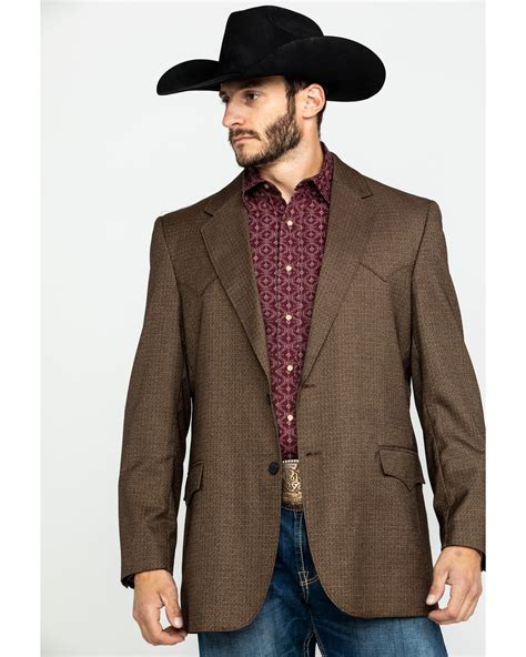Boot Barn Houston by Cripple Creek S Solid Chestnut Houston Sport Coat
