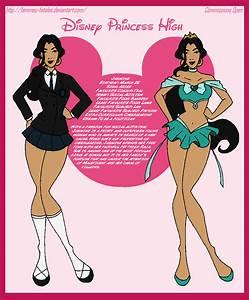 Disney Princess High - Jasmine by Femmes-Fatales on DeviantArt