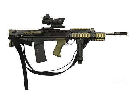 sa80 l85a2 rifle variant photograph by andrew chittock
