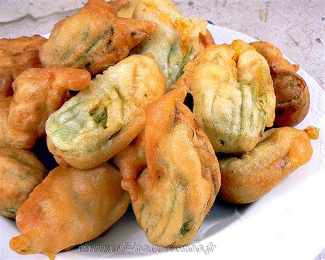 de cuisine seb beignets de fleurs de courgettes une cuisine pour voozenoo
