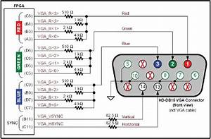 21 Vga Connections From Fpga