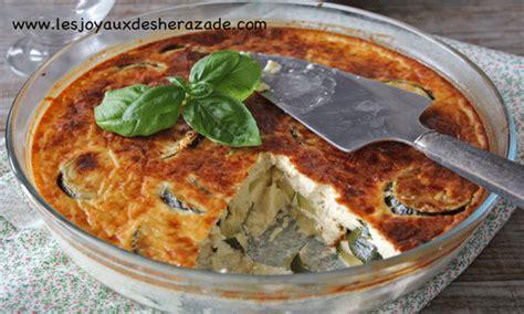 recette de cuisine facile et rapide algerien flan de courgettes facile