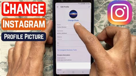 change instagram profile picture  youtube