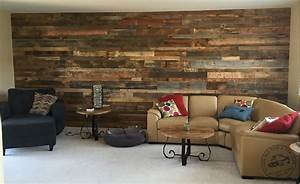 accent wall paneling idaho barn wood blend reclaimed With barnwood feature wall
