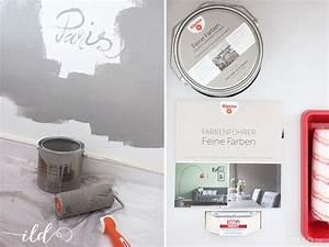 Alpina Feine Farben Dächer Von Paris : wandgestaltung mit alpina flur wohnzimmer im neuen look ich liebe deko ~ Orissabook.com Haus und Dekorationen
