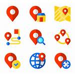 Location Icon Icons Symbol Vector Map Clipart