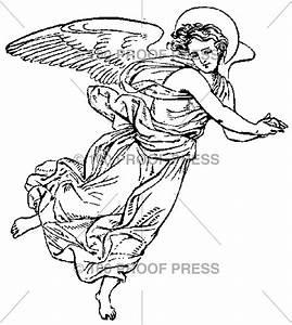 1524 Flying Angel Glancing Down