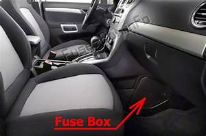 Fuse Box Diagram Chevrolet Captiva Sport  2012