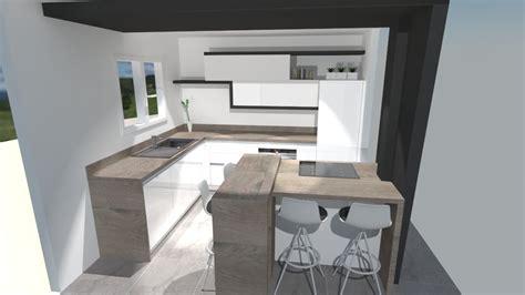 cuisine moderne noir et blanc meuble salon noir et blanc 7 cuisine moderne blanche
