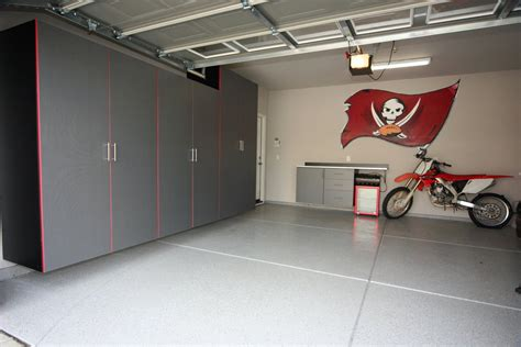 cool colors for your garage cabinets