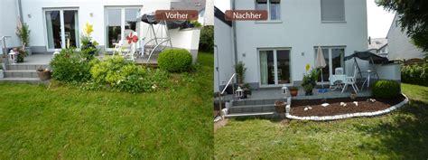 Garten Gestalten Vorher Nachher by Vorher Nachher Garten Vorher Nachher
