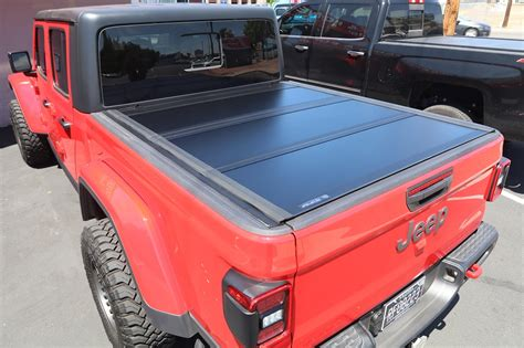 jeep gladiator truck bed cover truck access