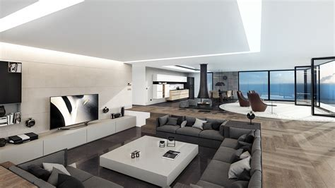 homes with modern interiors 4 ultra luxurious interiors decorated in black and white