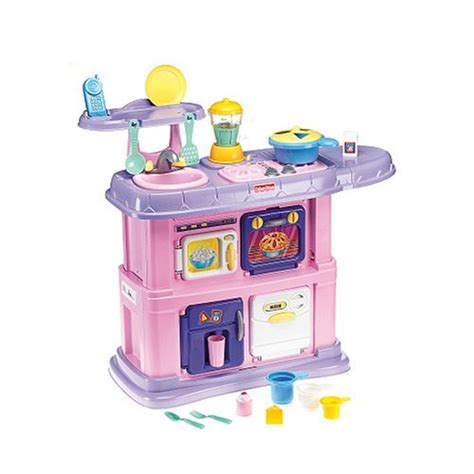 fisher price kitchen accessories fisher price pink grow with me kitchen 7211