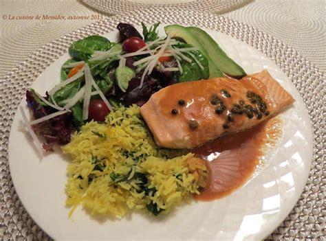 comment cuire un pav 233 de saumon
