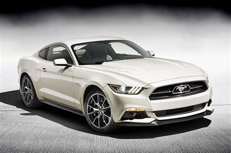 2015 Ford Mustang 50 Year Limited Edition Revealed