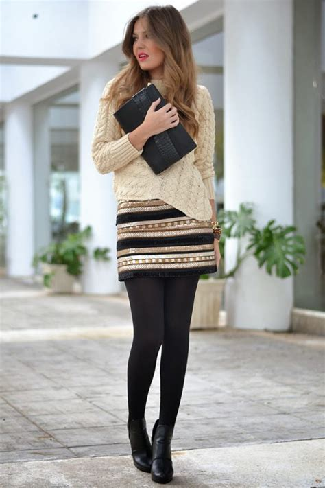 fabulous ways  wear black tights