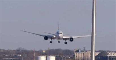 Landing Planes Sideways Airlines Airport Turbulence American