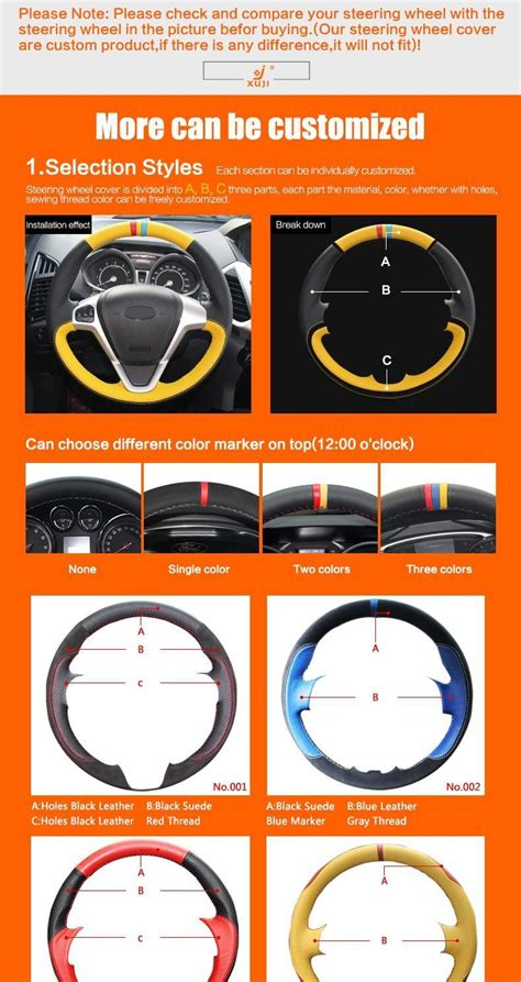 xuji steering wheel cover  volkswagen golf  mk gti vw