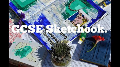 Gcse Art Sketchbook Youtube