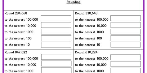 rounding ks2 reasoning test practice classroom secrets