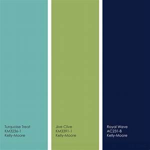 Pretty turquoise/lime/navy palette | Guest blue room ...