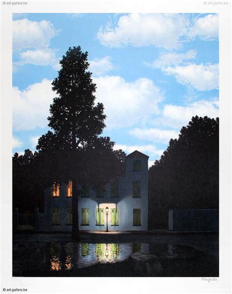 Rene Magritte  L'empire Des Lumières Te Koop