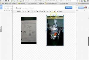 Side By Side Photos In Google Docs Using The Draw Tool