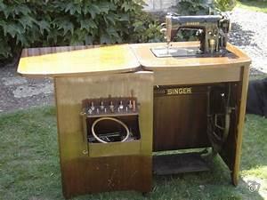 Ancienne Machine A Coudre : ancienne machine coudre singer 15b ameublement ~ Melissatoandfro.com Idées de Décoration