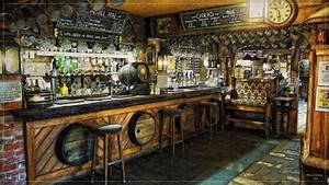 Old English Pub Interior Always a good combination, warm