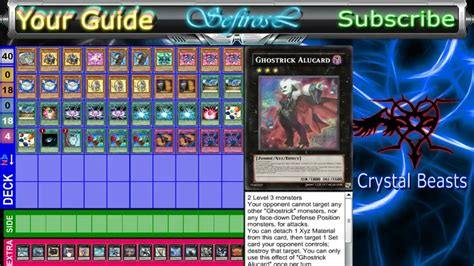 crystal beasts deck profile post sept 2013 youtube