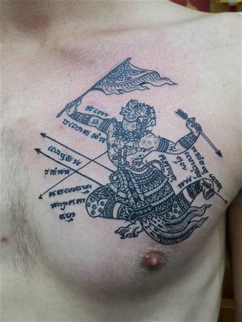 bangkok ink tattoo traditional thai tattoo  machine