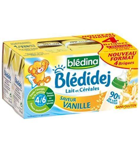siege auto groupe 0 1 blédina blédidej lait céreales dès 4 mois 4x250ml