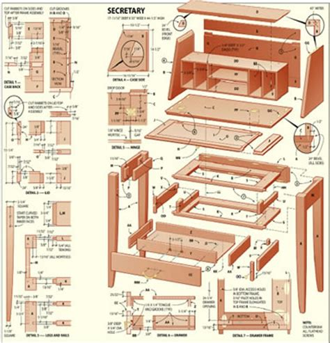 woodworking furniture plans woodworker magazine